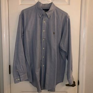 Ralph Lauren Classic Fit Blue Button Down